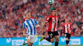Фантастичний гол Рауля Гарсії у відеоогляді матчу Атлетік – Реал Сосьєдад – 2:0