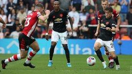 Великолепный гол Джеймса в видеообзоре матча Саутгемптон – Манчестер Юнайтед – 1:1