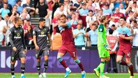 Ярмоленко отреагировал на первый гол за Вест Хэм после травмы – он не забивал почти год
