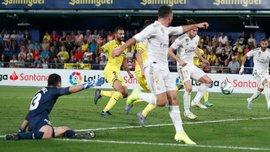 Бенефис и удаление Бейла в видеообзоре матча Вильярреал – Реал – 2:2