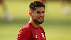 Самбрано прибыл в расположение сборной Перу