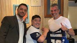Марадона назначен главным тренером аргентинской Химнасии