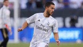 Азар провів тренування у загальній групі Реала
