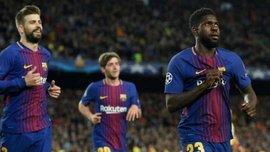 Два игрока Барселоны получили повреждения в своих национальных сборных –  среди них соперник Украины