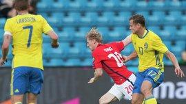 Євро-2020:  Швеція на власному полі врятувала нічию з Норвегією