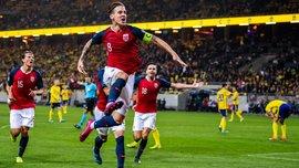 Швеция – Норвегия – 1:1 – видео голов и обзор матча