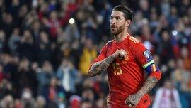 Рамос заявил, что его цель в сборной Испании – невероятный мировой рекорд