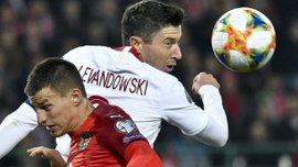Евро-2020: Польша в напряженном матче разошлась миром с Австрией и осталась на первой строчке группы G