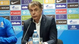 Тренер Азербайджана поделился эмоциями от сенсационной ничьей с Хорватией