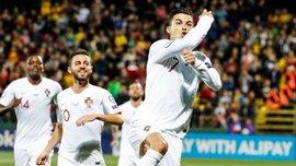 Феноменальное выступление Роналду в видеообзоре матча Литва – Португалия – 1:5