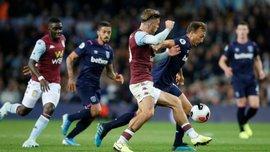 Астон Вилла – Вест Хэм – 0:0 – видеообзор матча с участием Ярмоленко