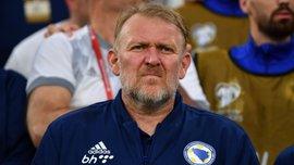 Просінечкі повернувся в крісло тренера Боснії і Герцеговини – заяву фахівця відхилили