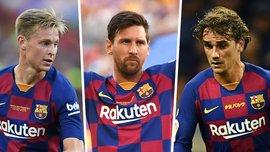 Барселона представила третий комплект формы
