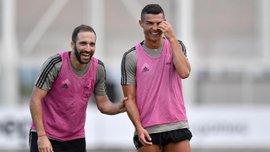 Ігуаїн порівняв форму Роналду в Реалі та Ювентусі
