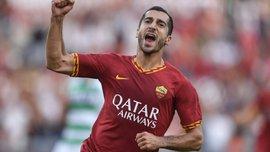 Дебютный гол Мхитаряна в видеообзоре матча Рома – Сассуоло – 4:2