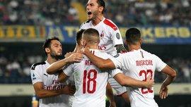 Гол Пйонтека та два брутальні вилучення у відеоогляді матчу Верона – Мілан – 0:1