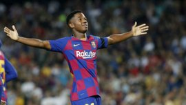 Барселона может потерять Фати на месяц