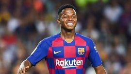Барселона готовит для 16-летнего Фати новый контракт