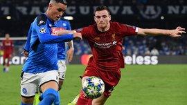 Робертсон удалил страницу в твиттере после матча с Наполи – на защитника Ливерпуля посыпались оскорбления фанатов