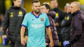 Альба получил травму в матче против Боруссии и вылетел на две недели
