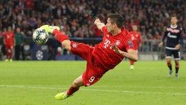 Левандовски невероятно разобрался с двумя соперниками – момент дня в Лиге чемпионов
