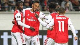 Франкфуртский разгром в обзоре матча Айнтрахт – Арсенал – 0:3