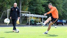 Хочолава и Тотовицкий вернулись к тренировкам после травм