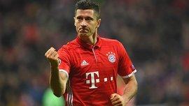 Левандовски признан лучшим игроком Бундеслиги в августе