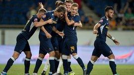 Дубль Супряги у відеоогляді матчу СК Дніпро-1 – Карпати – 2:0