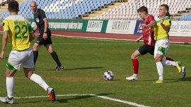 Форвард Горняка-Спорт забил роскошный гол в матче Первой лиги