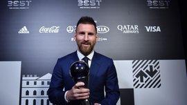Результаты голосования FIFA The Best-2019 – тройка лидеров сильно оторвалась от других