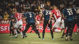 Лига 1: Монако уверенно обыграл Ниццу и одержал первую победу в сезоне, Марсель неожиданно потерял очки с Дижоном