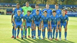 Сборная Украины U-17 стала победителем турнира в Латвии