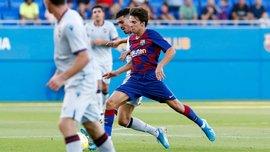 Игрок Барселоны Б обыграл всю оборону и забил невероятный гол пяткой – еще один бриллиант для Вальверде