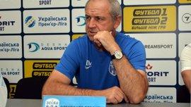 Рябоконь стал лучшим тренером 9 тура УПЛ