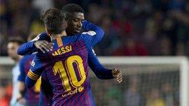 Барселона – Интер: Месси и Дембеле вернулись к тренировкам