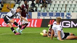 Голевая перестрелка в видеообзоре матча Парма – Торино – 3:2