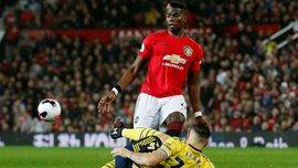 Погба зазнав рецидиву травми в матчі з Арсеналом, – ESPN
