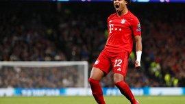 Гнабри признан лучшим игроком недели в Лиге чемпионов