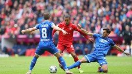 Баварія – Хоффенхайм – 1:2 – відео голів та огляд матчу