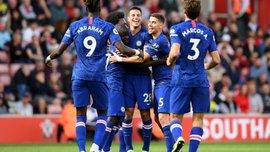 Эпический парашют Абрахама в видеообзоре матча Саутгемптон – Челси – 1:4