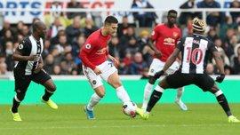 Чергове фіаско Манчестер Юнайтед у відеоогляді матчу з Ньюкаслом – 0:1