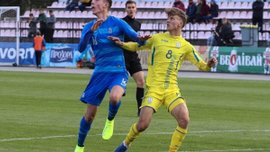 Збірна України U-19 здобула вольову перемогу над командою Греції