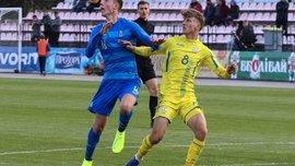 Сборная Украины U-19 одержала волевую победу над командой Греции