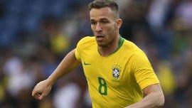 Артур признался, что Барселона не хотела его отпускать в сборную Бразилии