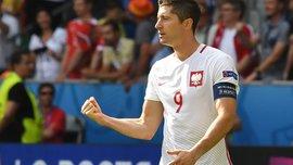 Хет-трик Лєвандовскі у відеоогляді матчу Латвія – Польща – 0:3