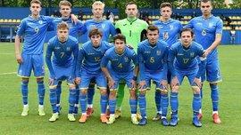Сборная Украины U-18 разгромила сверстников из Армении
