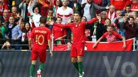 Португалия – Люксембург – 3:0 – видео голов и обзор матча