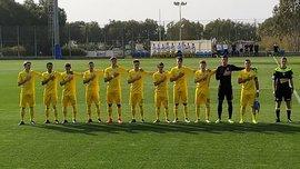 Сборная Украины U-18 во второй раз переиграла сверстников из Армении