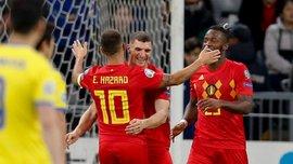 Черговий упевнений виступ збірної Бельгії у відеоогляді перемоги над Казахстаном – 2:0